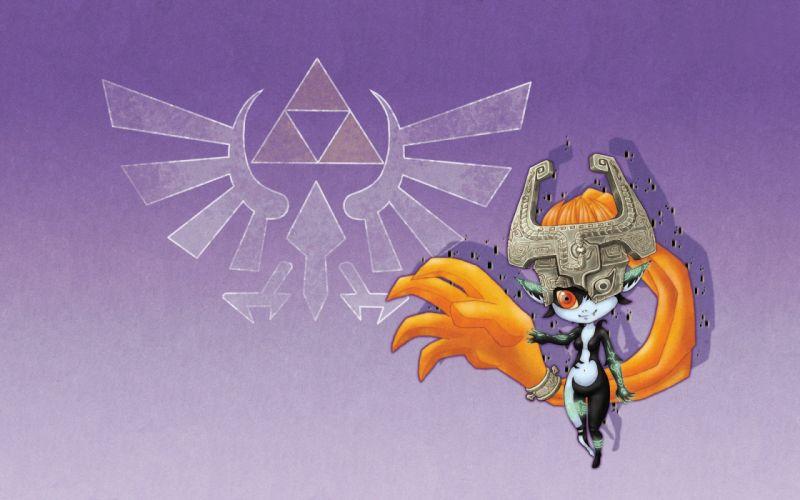 video games triforce The Legend of Zelda Midna wallpaper
