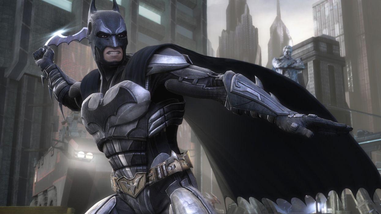 Batman Dc Comics Characters Injustice Gods Among Us Wallpaper