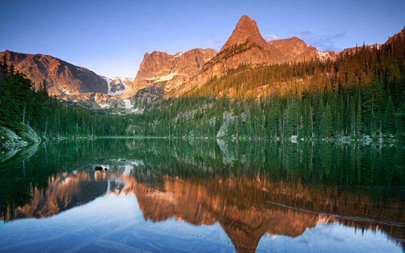 landscapes lakes wallpaper