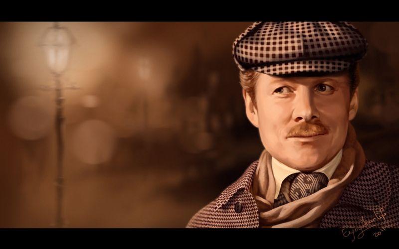 men Sherlock Holmes Doctor Watson wallpaper