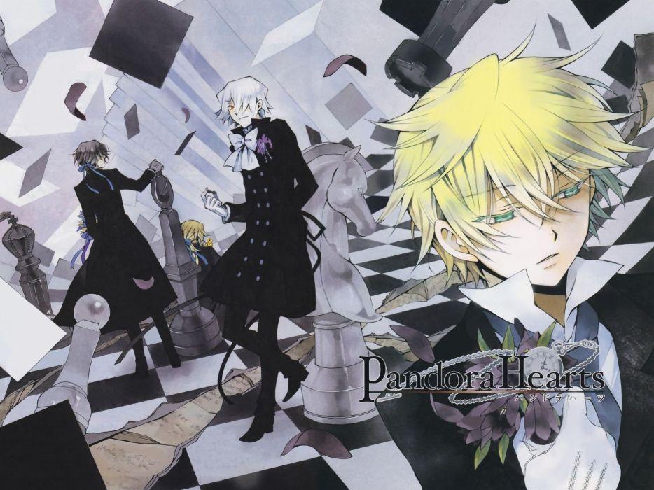 pandora hearts anime