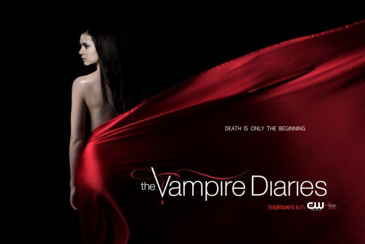 VAMPIRE DIARIES drama fantasy horrror television series poster wallpaper