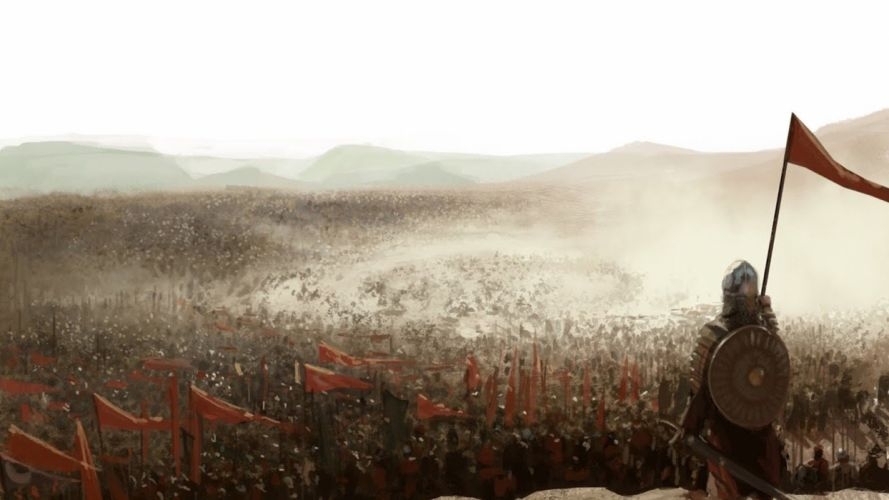 soldiers war fantasy art Kingdom of Heaven battles wallpaper