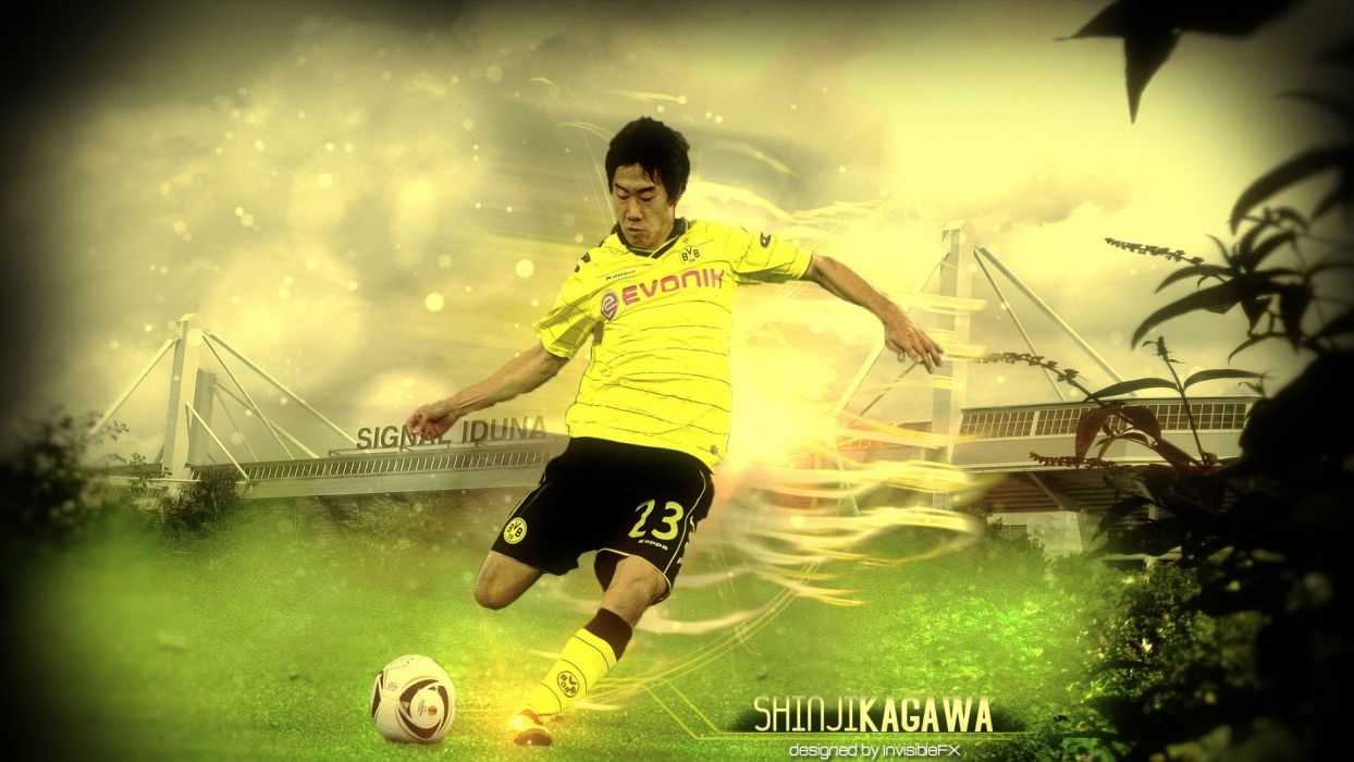 Sports Soccer Borussia Dortmund Football Player Shinji Kagawa Bundesliga Kagawa Bvb Bvb09 Wallpaper 1920x1080 275580 Wallpaperup