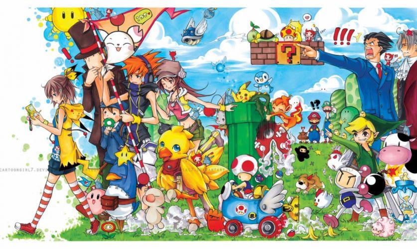 fantasy art game wallpaper