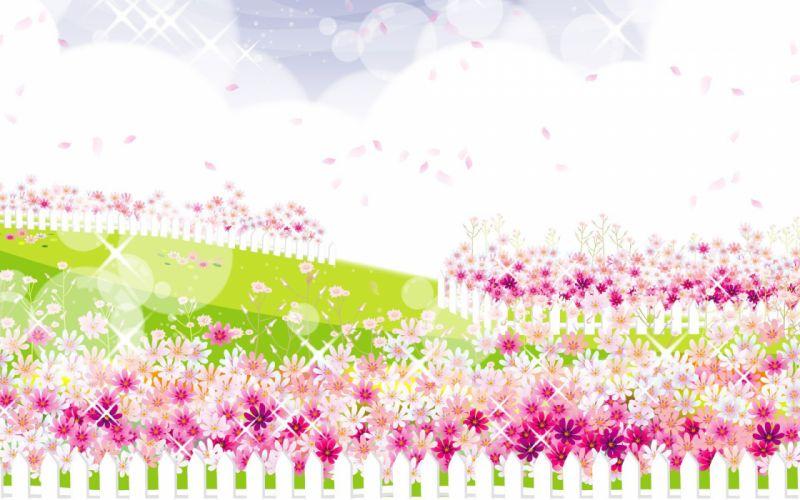 flowers vectors wallpaper