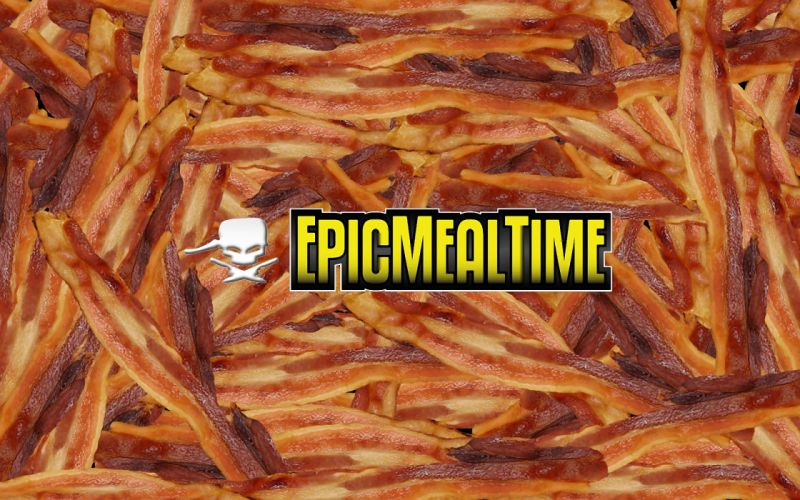 bacon Epic Meal Time wallpaper
