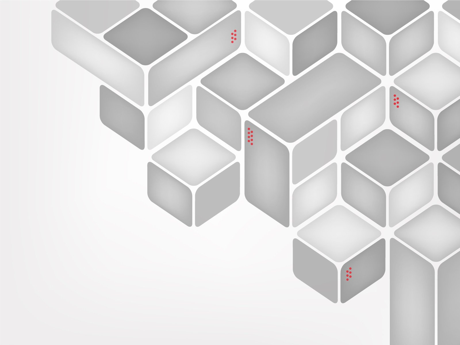 White Cubes Wallpaper Abstract White Grayscale Cubes