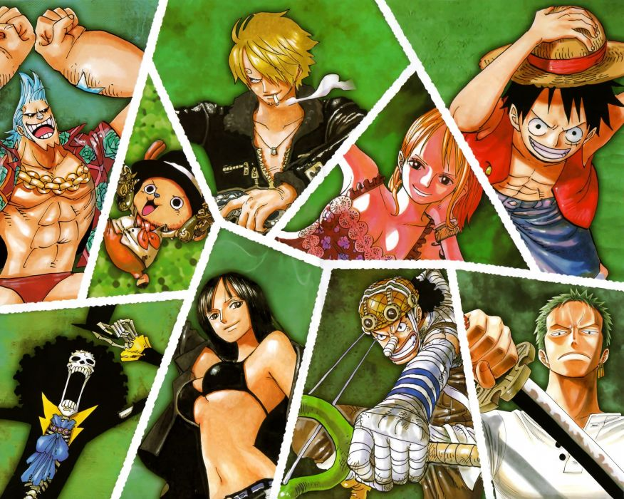 One Piece (anime) Nico Robin Roronoa Zoro Franky (One Piece) Tony Tony Chopper Brook (One Piece) Monkey D Luffy Nami (One Piece) Usopp Sanji (One Piece) wallpaper
