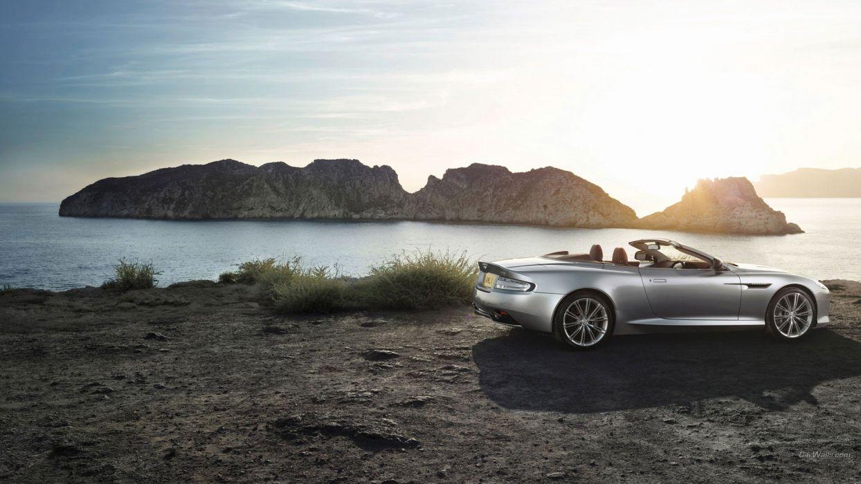 coupe Aston Martin DB9 Aston Martin wallpaper