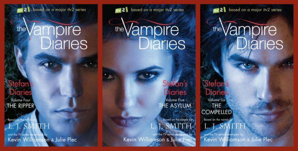 VAMPIRE DIARIES drama fantasy horror television series poster book wallpaper