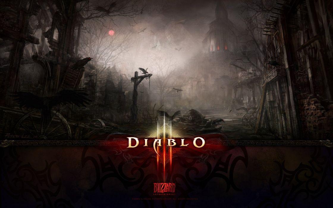 video games Diablo III wallpaper