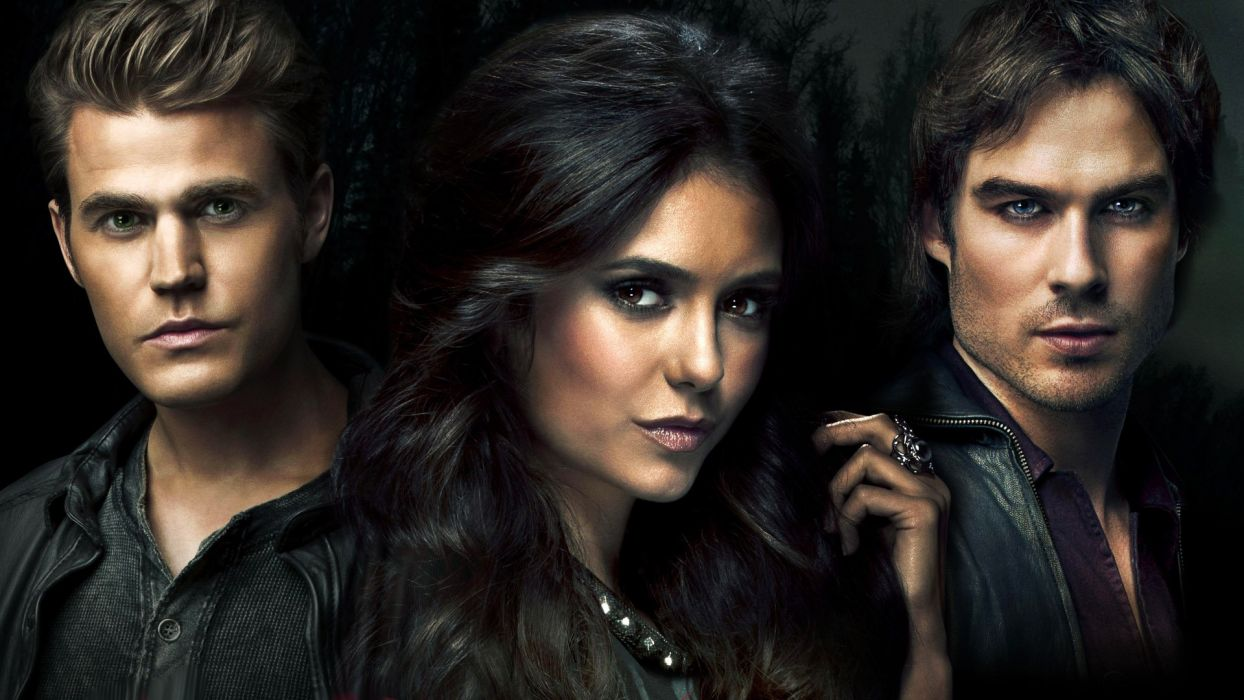 VAMPIRE DIARIES drama fantasy horror television series wallpaper