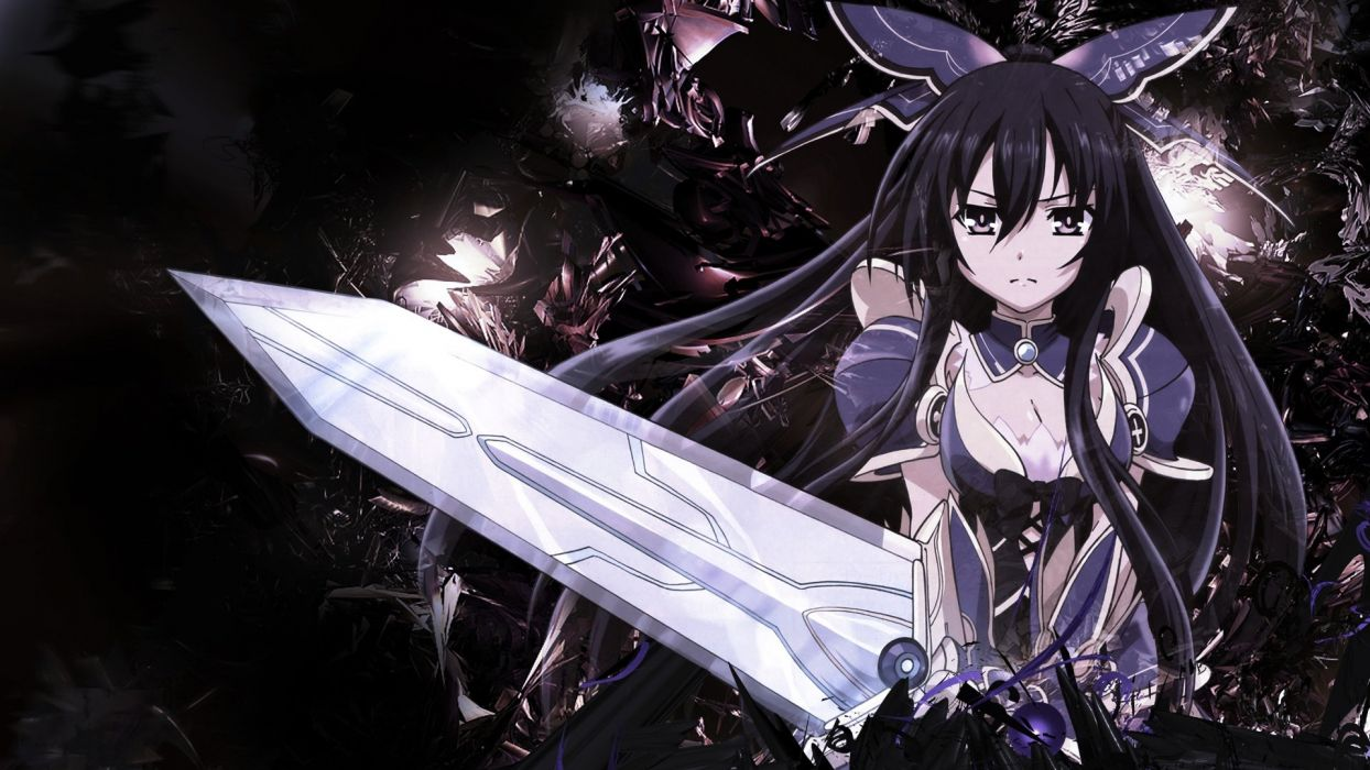 Date A Live Armor Sword Weapon Yatogami Tohka R Wallpaper