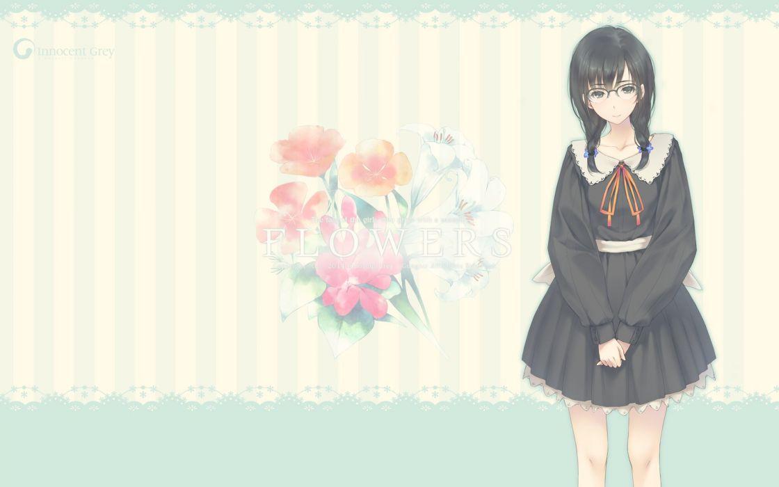 FLOWERS (Innocent Grey) Hanabishi Rikka wallpaper