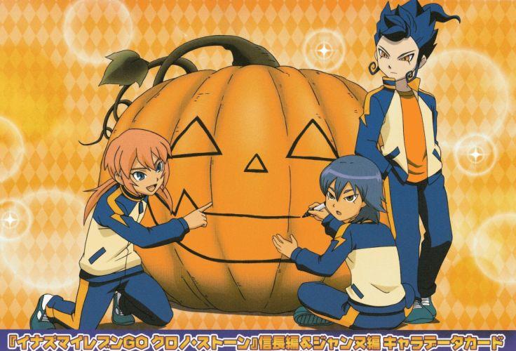 Inazuma Eleven GO halloween pumpkin wallpaper