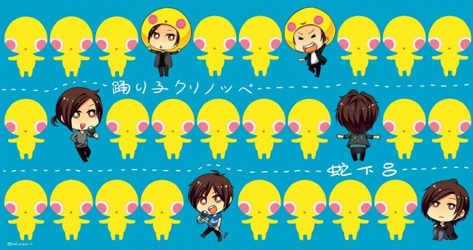 Nico Nico Singer douga chibi wallpaper