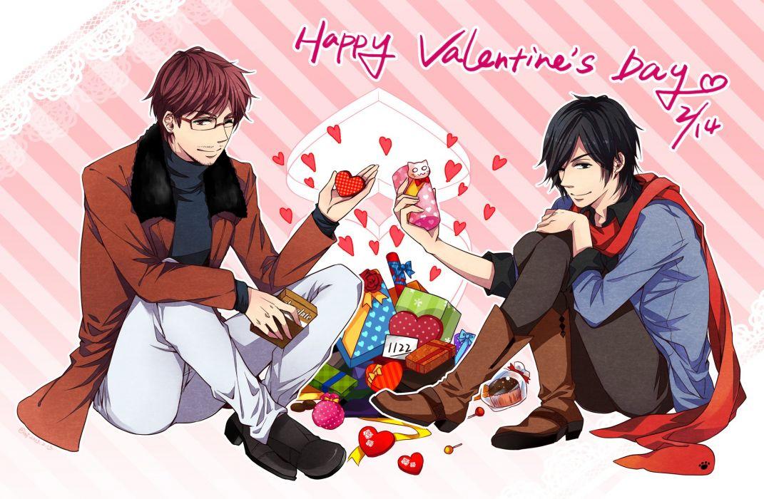 Nico Nico Singer douga valentines      d wallpaper