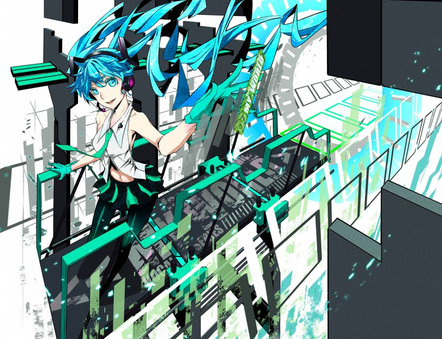 vocaloid firecel hatsune miku vocaloid wallpaper