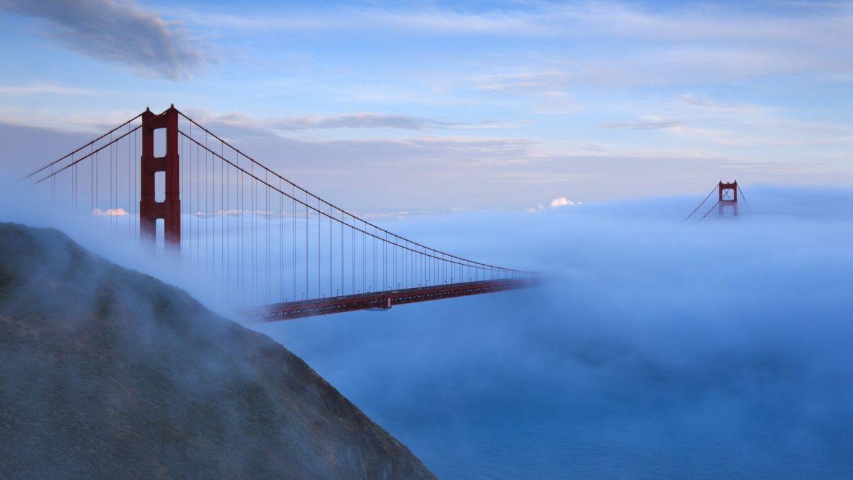 Golden Gate Bridge California San Francisco US Marines Corps wallpaper