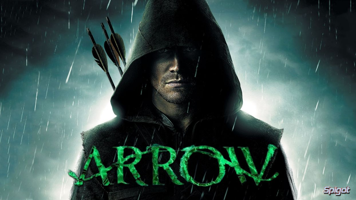 ARROW green action adventure crime television series poster warrior archer wallpaper
