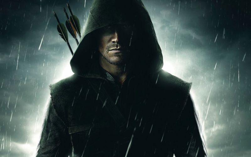 ARROW green action adventure crime television series warrior fantasy archer wallpaper