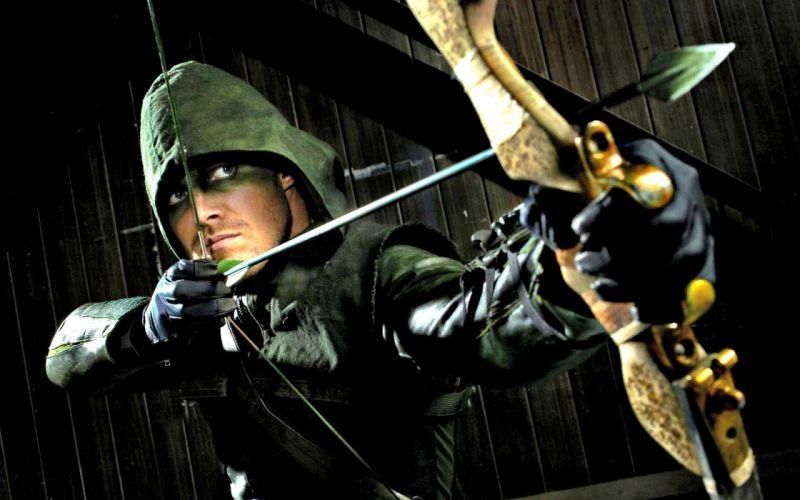 ARROW green action adventure crime television series fantasy warrior archer wallpaper