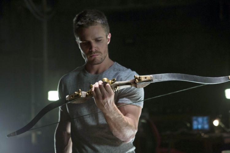 ARROW green action adventure crime television series warrior archer wallpaper