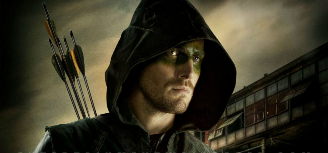 ARROW green action adventure crime television series warrior archer wallpaper