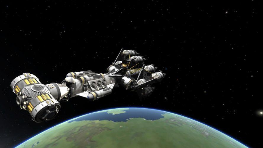 BLOCKADE RUNNER sim sci-fi mmo game spaceship planet wallpaper
