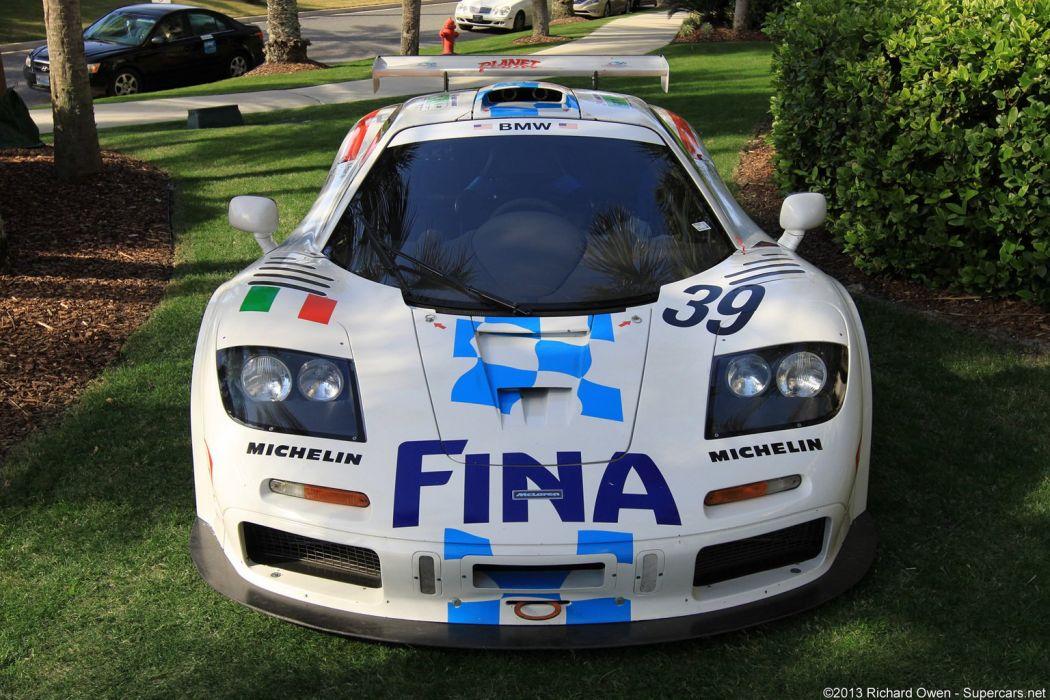 maclaren f1 gtr gt racing wallpaper