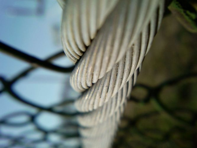 fences chain link fence ropes wallpaper