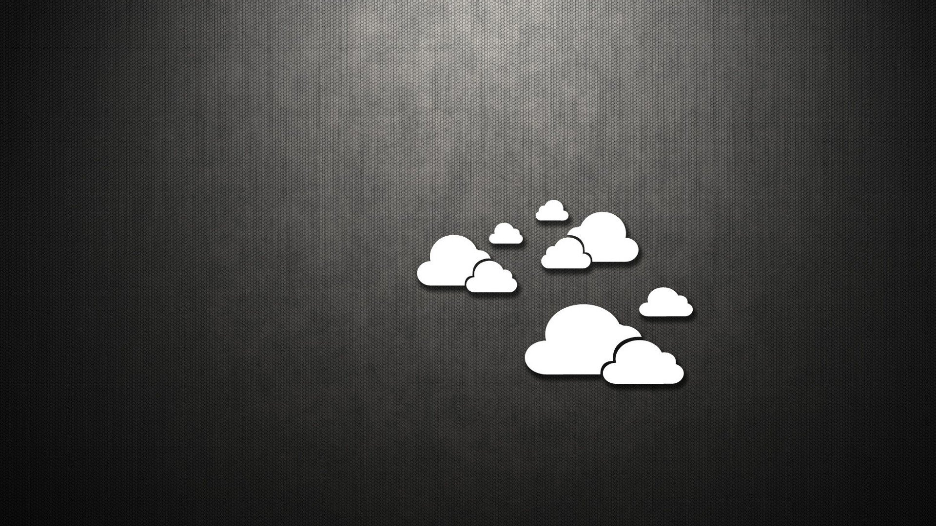 Clouds minimalistic dark metallic simple wallpaper | 1920x1080 | 279866 | WallpaperUP