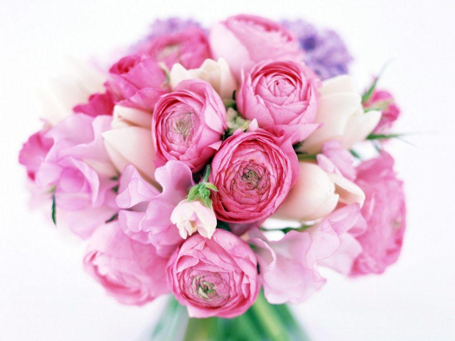 flowers bouquet wallpaper