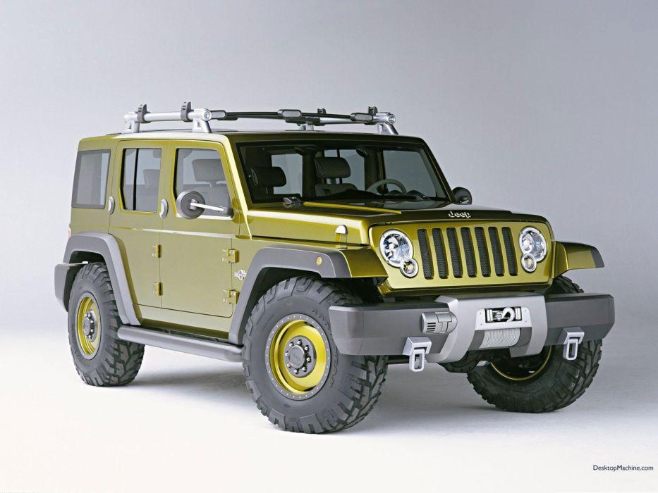 cars Jeep rescue wallpaper