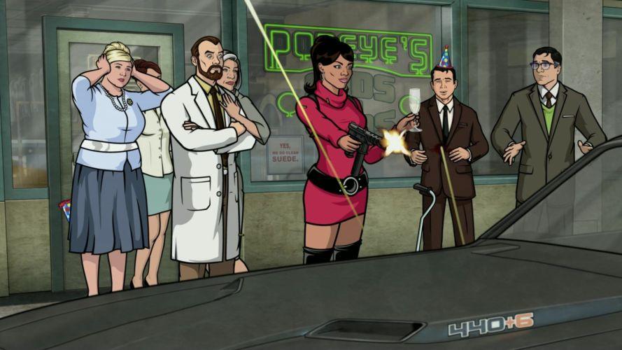 Archer (TV) Lana Kane Pam Poovey wallpaper
