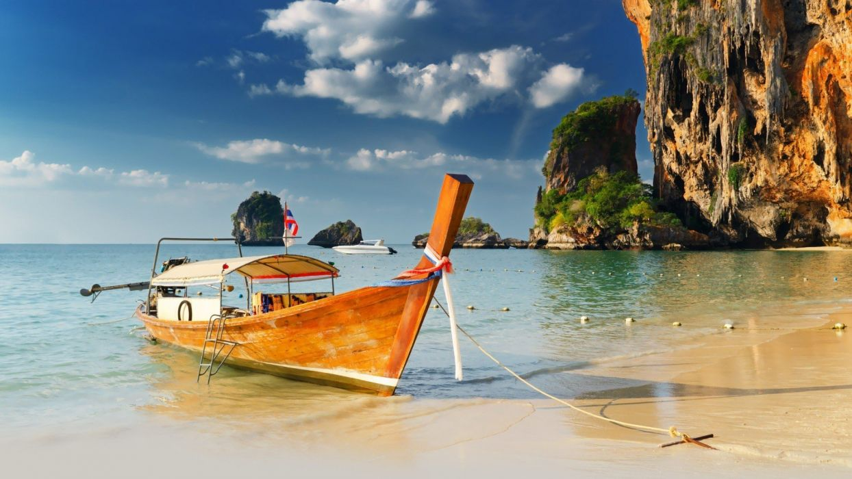 nature Thailand seaside Thai sea beaches wallpaper