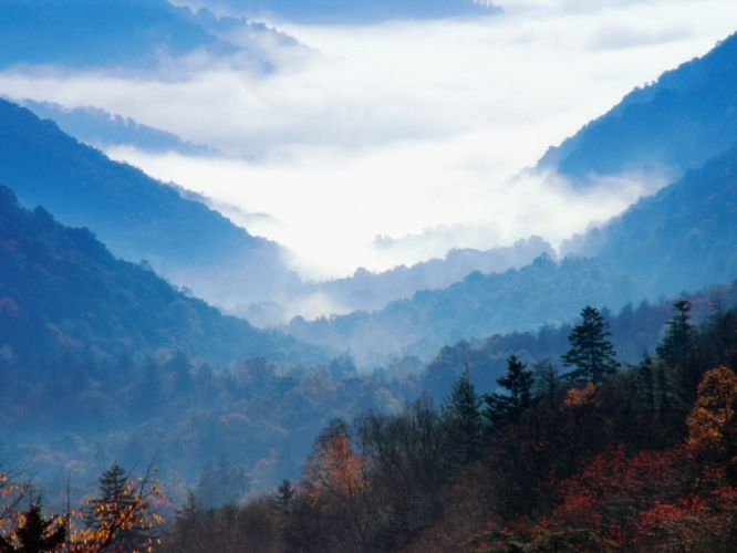 Tennessee gap Great Smoky Mountains wallpaper