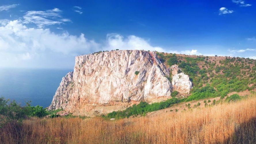 mountains landscapes nature meadows wallpaper