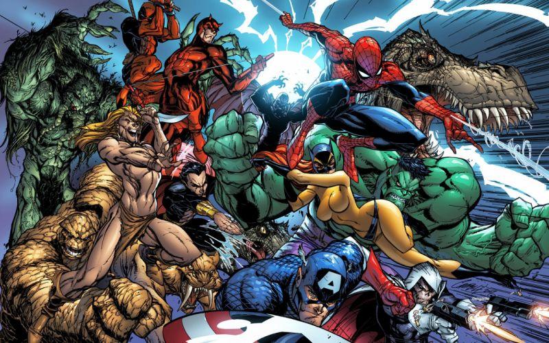 Marvel Comics J_ Scott Campbell wallpaper