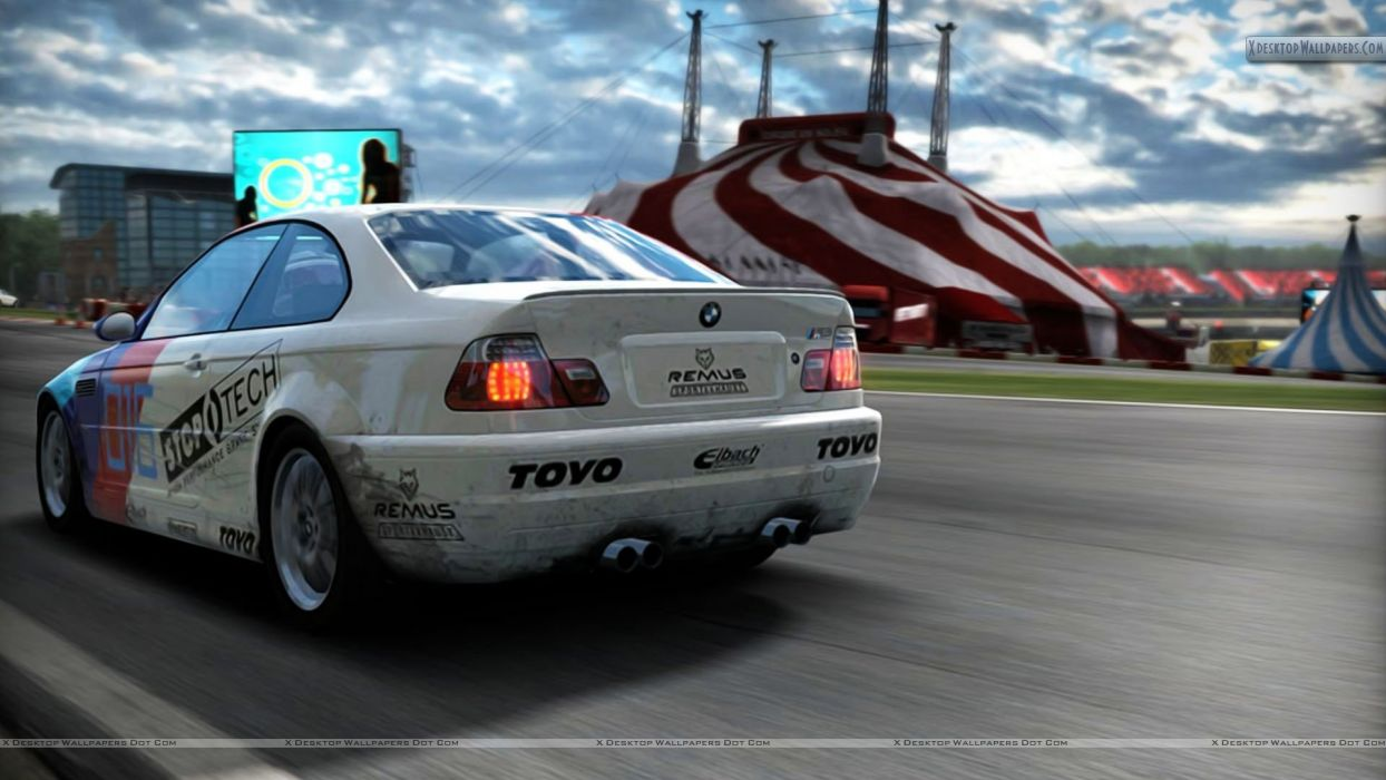 BMW white back Need for Speed Need For Speed Shift wallpaper