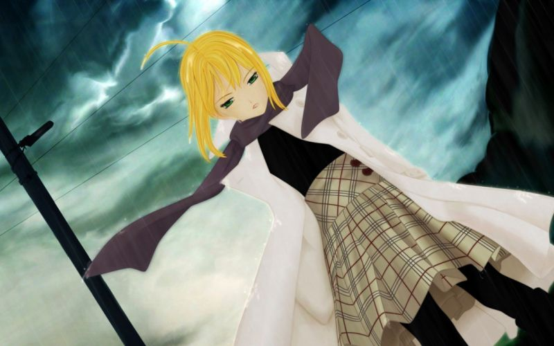 Fate/Stay Night anime Saber anime girls wallpaper