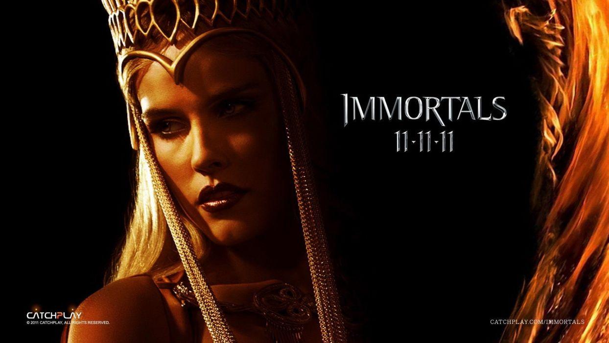Immortals Isabel Lucas Athena wallpaper