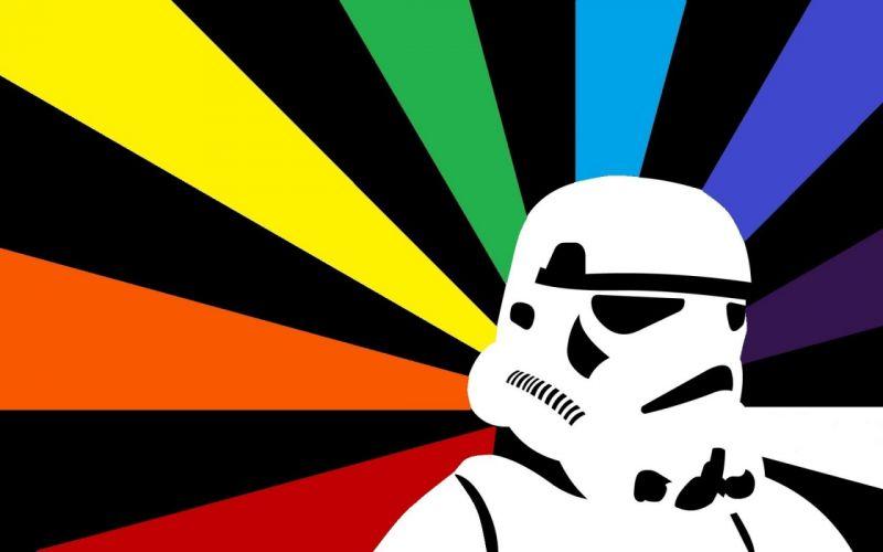 rainbows clone trooper wallpaper