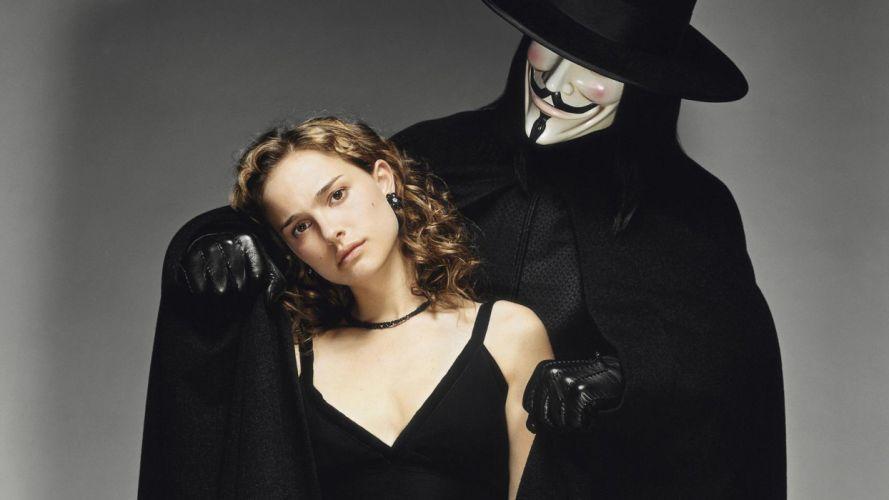 Natalie Portman V for Vendetta wallpaper