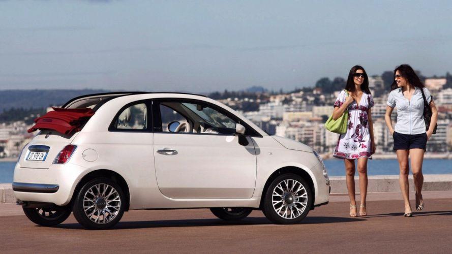 cars Fiat Fiat 500 wallpaper