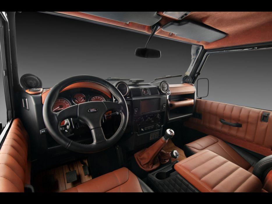 cars interior Land Rover defender wallpaper