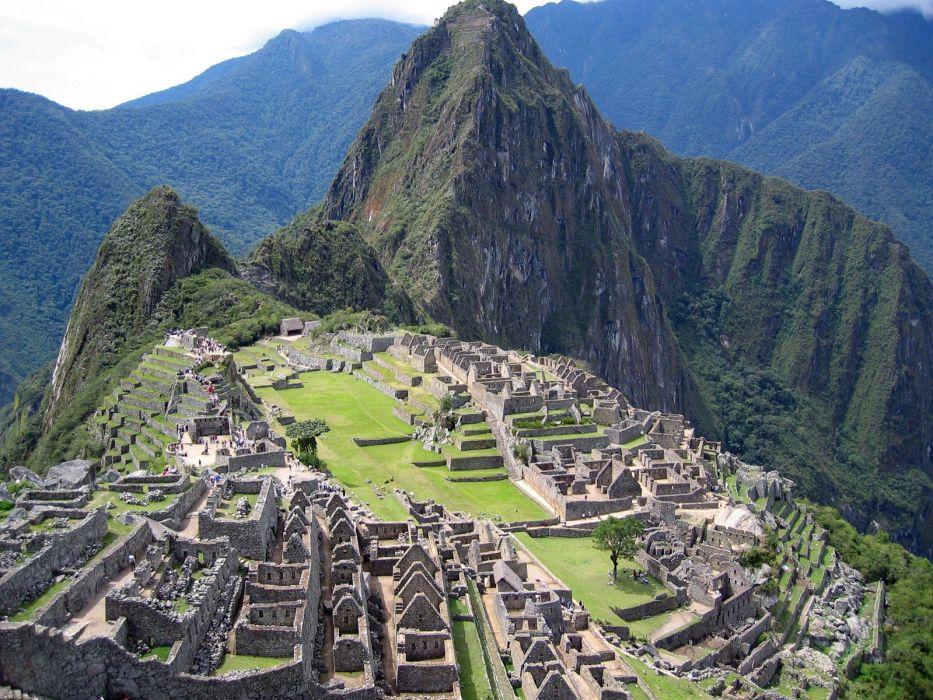 ruins Machu Picchu wallpaper