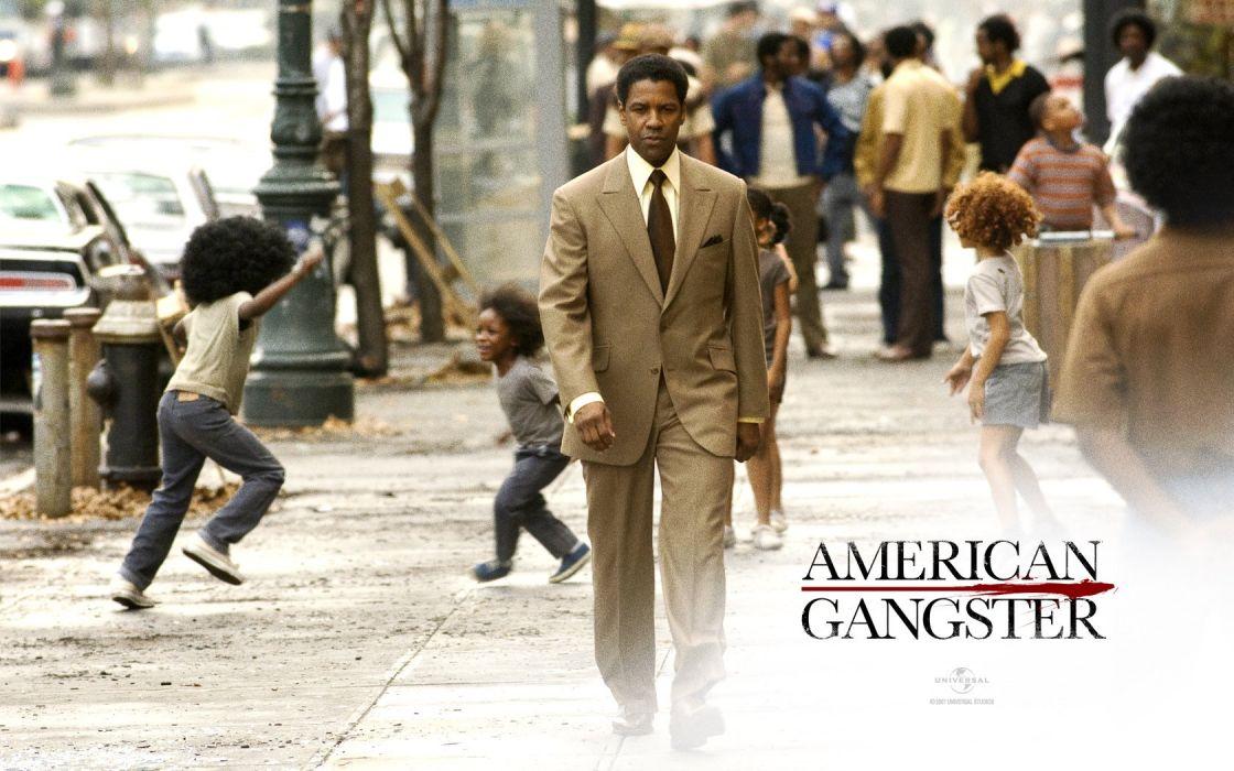 American Gangster Denzel Washington wallpaper