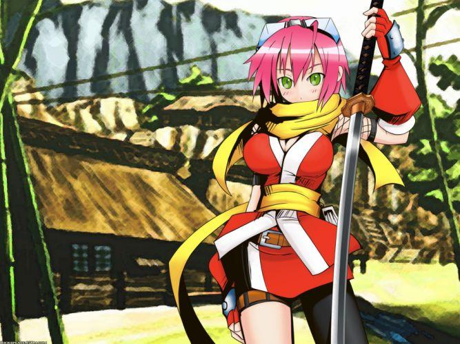 Izuna (Legend Of The Unemployed Ninja) Izuna: Legend of the Unemployed Ninja wallpaper